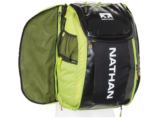 Nathan Flight Control Bag Black/Sulfur Spring